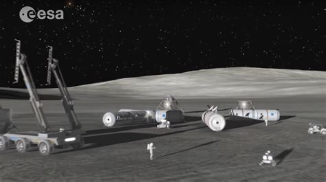 Space News Europe Hits Snooze On Woerner S Quot The Moon Awakens Quot Push