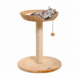 Arbre A Chat Moderne : arbre chat avec corbeille en feuilles de bananier tiendanimal ~ Melissatoandfro.com Idées de Décoration
