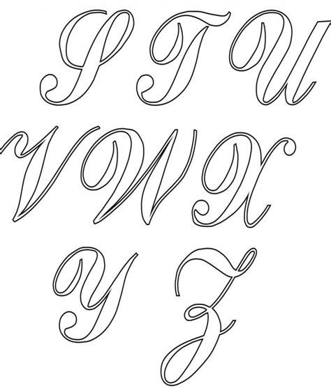 25 melhores ideias de alfabeto cursivo somente no letras cursivas alfabeto fontes
