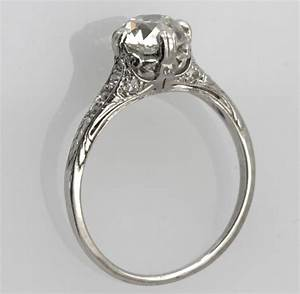 Megan fox brian austin vintage platinum wedding ring ipunya for Vintage platinum wedding ring