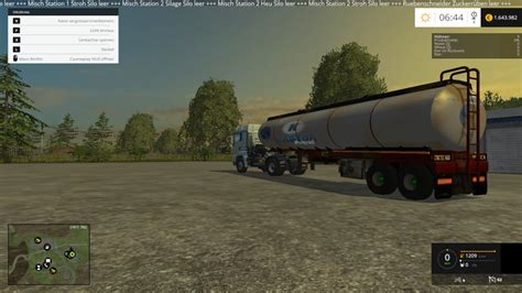 oil trailer v 1 0 fs15 farming simulator 2015 15 mod