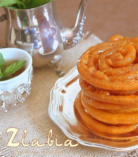 recette de cuisine orientale zlabia الزلابية patisserie orientale ramadan recettes