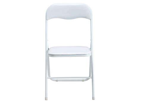 but chaise pliante chaise pliante bliss coloris blanc conforama pickture