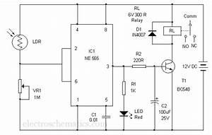 Automatic Gate Lamp Circuit