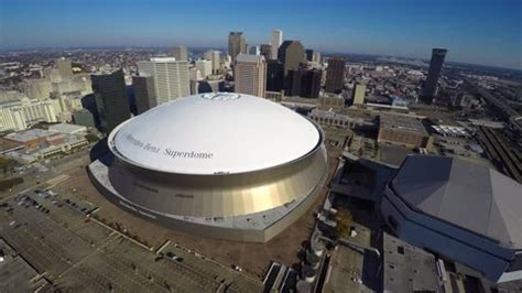It primarily serves as the home venue for the new orleans saints of the national football league (nfl). Mercedes Benz Stadium Stock Video Footage - 4K and HD Video Clips | Shutterstock
