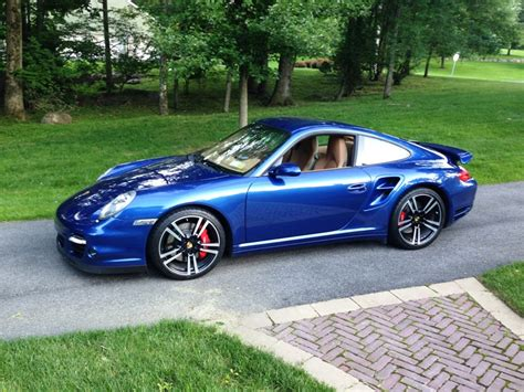 911 Turbo For Sale by 07 911 Turbo For Sale Cobalt Blue 6 Speed Rennlist