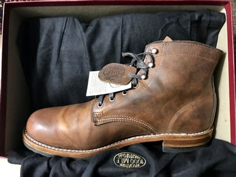 Evans Boots : Wolverine 1000 Mile Evans Boot Rust Brown Size 10.5