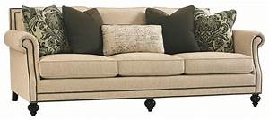Bernhardt Brae B6717 Elegant And Traditional Living Room Sofa With High End Furniture Style