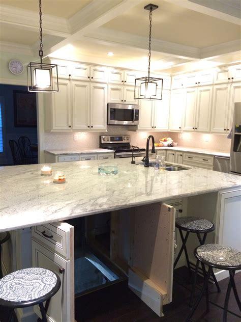 tornado shelter  kitchen counter island dream home
