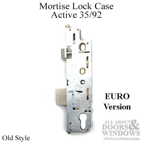 euro mortise lock case active  gear  style replacement