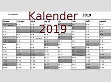 Kalender 2019 Download Freewarede