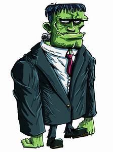 Frankenstein Cartoon Face - Cliparts.co