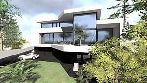 Einfamilienhaus Hanglage Planen : haus im hang moderne architektur youtube ~ Lizthompson.info Haus und Dekorationen