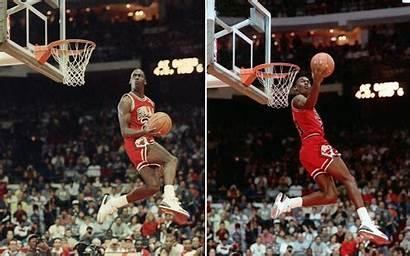 Jordan Michael Dunk 1988 Dunking Slam Famous