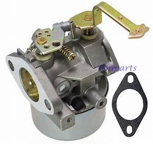 Carburetor Carb For Tecumseh 640152a Hm80 Hm90 Hm100 8