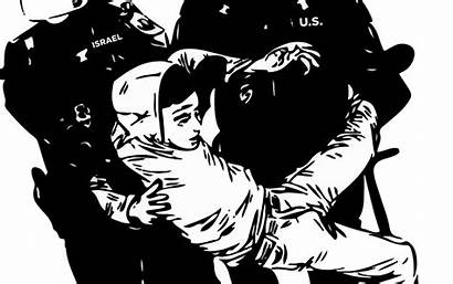 Ice Border Deadly Exchange Israel Police Immigration