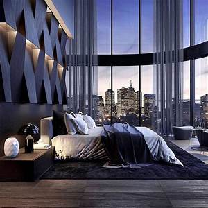 Amazing, Bedroom, Interior, Coupled, With, City, Views, Ud83d, Udd25, It
