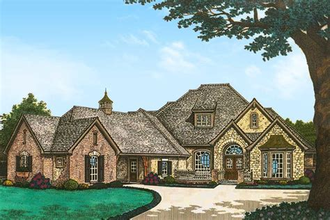 touch  french countryside fm architectural designs house plans