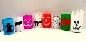 Gruselige Bastelideen Zu Halloween : halloween basteln bunte grusellichter aus recyceltem glas ~ Lizthompson.info Haus und Dekorationen