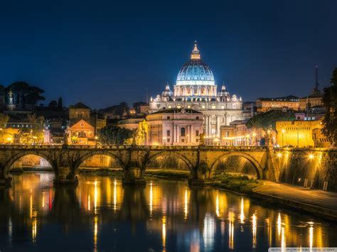 Free Vatican City At Night Phone Wallpaper By Melpeak