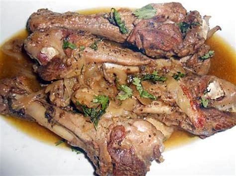 cuisiner des manchons de canard manchons de canard au jus flageolets et haricots verts
