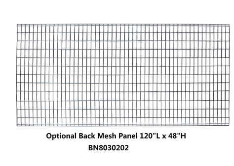 pallet rack guards heavy duty wire mesh panels  cages