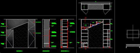 tv unit storey  autocad cad   kb
