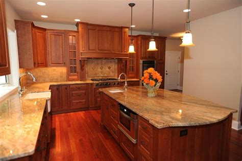 tile kitchen floor cherry cabinets design decoration 4606