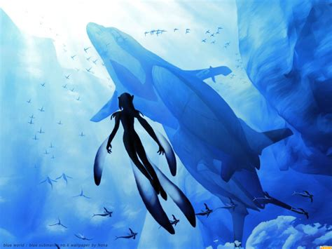 Anime Wallpaper Blue - blue submarine no 6 wallpaper and background image