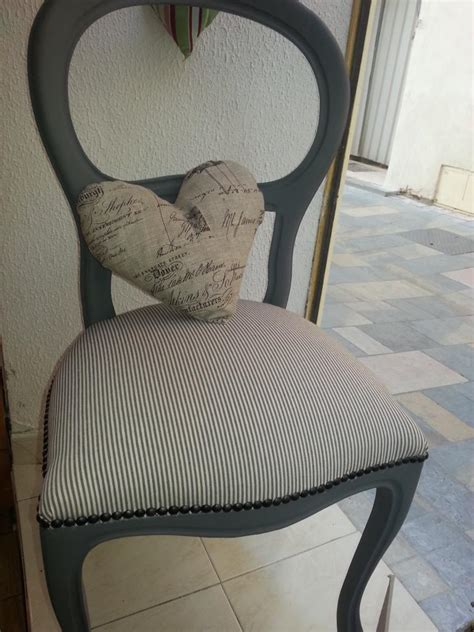 customiser une chaise chaise style louis philippe relookée voltaire