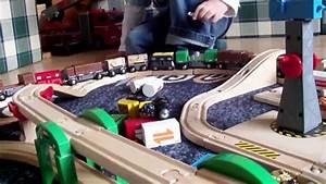 Brio Eisenbahn Schienen : brio eisenbahn spielen big fun playing brio wooden train hd youtube ~ Orissabook.com Haus und Dekorationen