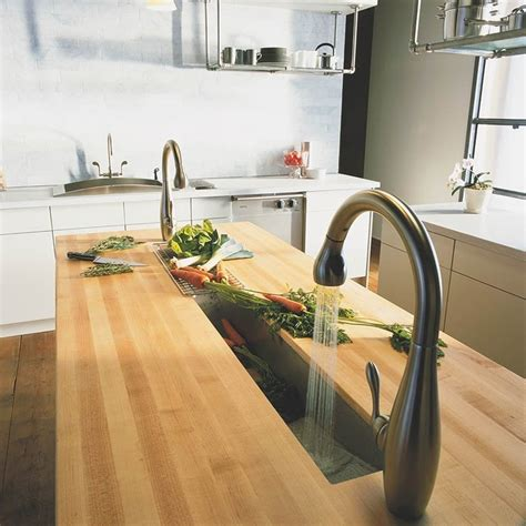 kitchen trough sink 83 best kitchen inspiration images on electric 3397