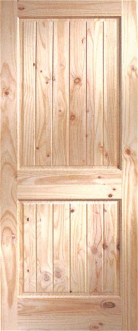 pine  groove interior doors clear  knotty pine interior doors