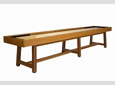 12 Foot Oxford Shuffleboard Table McClure Tables