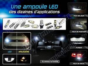 Ampoule Led Auto : ampoule led voiture w5w one face 4 blanc ~ Voncanada.com Idées de Décoration