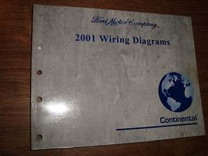 2001 Ford Continental Wiring Diagrams Manual Mwi