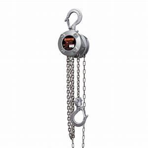 Harrington Cx 1  4 Ton X 20 Ft Hand Chain Hoist