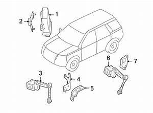 2011 Land Rover Lr2 Headlight Control Module Bracket