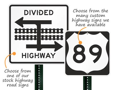 Mutcd Highway Road Signs