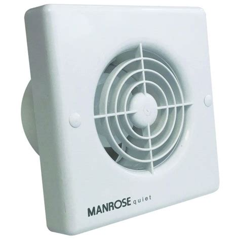 bath fan with humidistat manrose qf100h 4 quiet extractor fan with integral