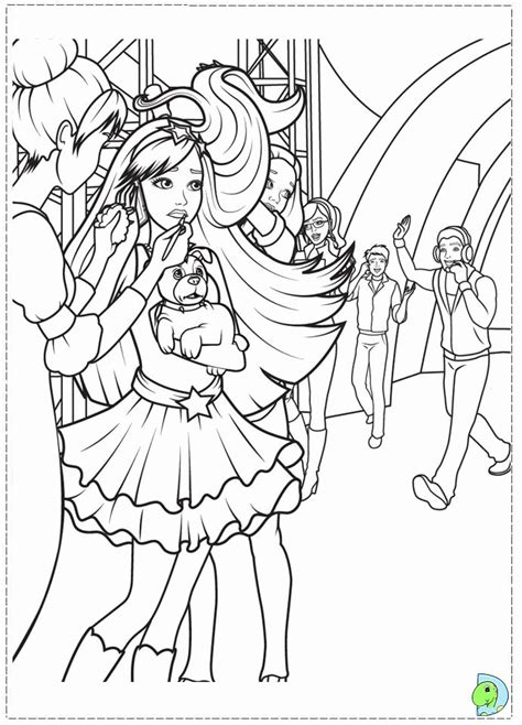 princess   popstar coloring pages coloring home
