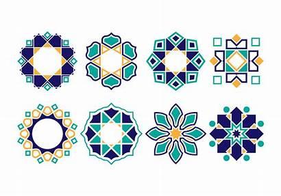 Islamic Vector Pattern Ornament Patterns Clipart Vectors