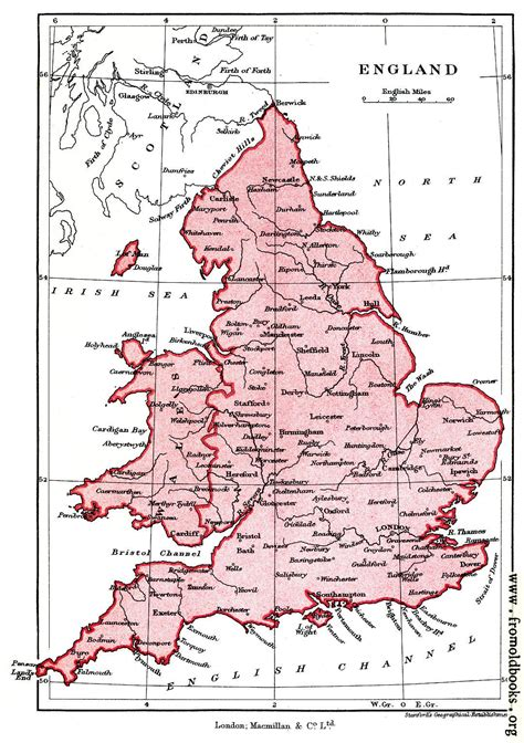 frontispiece map  england