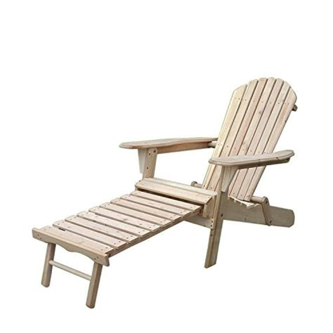 sliverylake outdoor foldable wood adirondack chair w pull