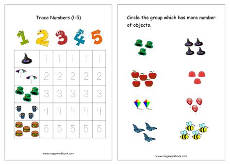 Free Worksheets and Study Material for Preschool and