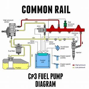 Toxic Diesel Performance   Duramax Cp3 Common Rail Fuel Pump