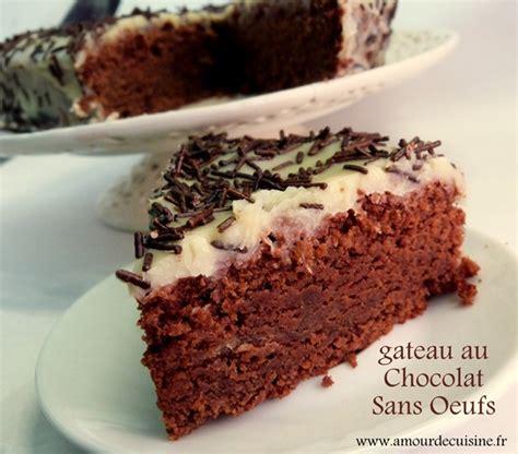 1 amour de cuisine gateau au chocolat sans oeufs recette delicieuse amour