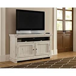 Antique White Tv Stands by Willow Distressed White Entertainment Collection Free