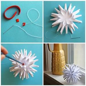 Faire Soi Meme Bricolage : boule de no l faire soi meme 9 suggestions de bricolage ~ Premium-room.com Idées de Décoration