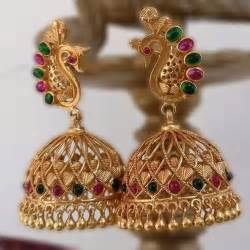 diamond earrings designs best 25 temple jewellery ideas on south